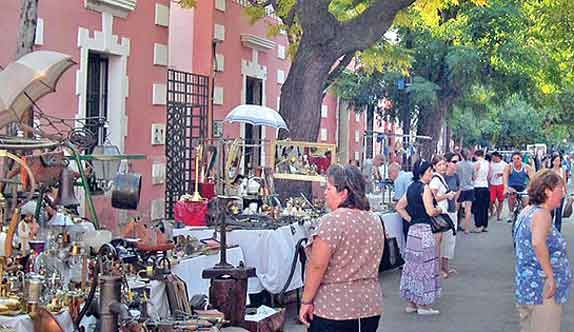 Paseo de las Artes en Córdoba
