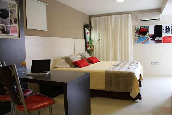 habitacion del hotel en cordoba sol de piedra