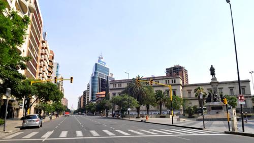 turismo en córdoba, avenida yrigoyen nueva córdoba