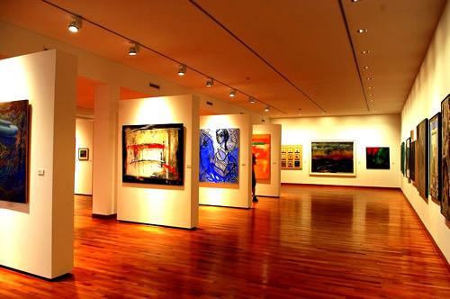museo emilio caraffa córdoba, exposiciones