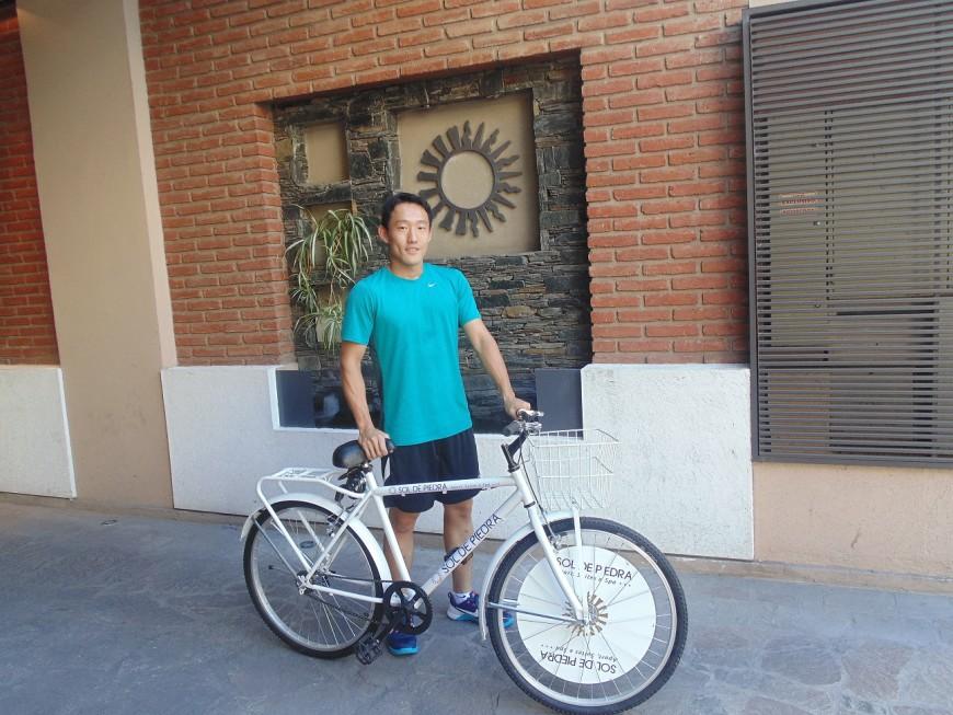 Bicicletas gratis para nuestros huespedes